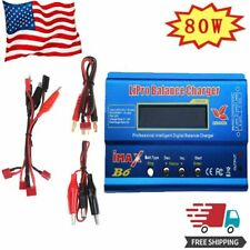 HTRC imax B6 80W Digital LCD RC Lipo LiFe NiMh NiCD Battery Balance Charger US
