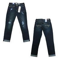 Denizen by Levi's Women's Juniors Ripped Low Rise Boyfriend Denim Jeans Pants