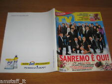 TV SORRISI E CANZONI=2011/8=FESTIVAL SANREMO=DAVIDE BARONCINI=NATALIE PORTMAN=