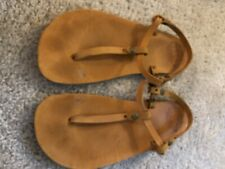 Luna Brujita Barefoot UNISEX Thong Sandals Leather Size 11 MNS or 12 WMNS