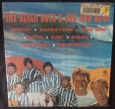 THE BEACH BOYS & JAN & DEAN {S/T} Exact Productions EX-243 Vinyl Album