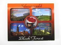 Schwarzwald Black Forrest Holz Souvenir Magnet,Germany Deutschland,Neu