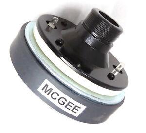 """McGee CD005C PA Mittel-Hochtontreiber Horntreiber 1-3/8"""" 35mm 105 dB 100/200 W"""