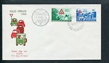 Ned.Nieuw Guinea FDC E8 - E 8, Veilig Verkeer 1962, blanco, ds Manokwari 3