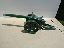 vintage BRITAINS Lead Toy Soldiers # 1264,  4.7 Inch Naval Gun cannon, Az