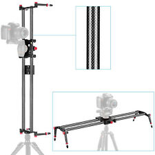 "Neewer 31.5""/80cm Carbon Fiber Camera Track Dolly Slider Rail System"