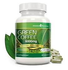 Grains de Café Vert pur 6000mg 20% CGA 90 régime capsules Evolution SLIMMING
