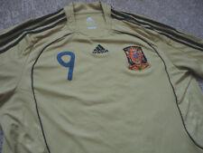 Authentic Adidas Spain Espana Fernando Torres Soccer Football Shirt Jersey XL