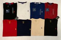 Polo Ralph Lauren Men's T-Shirt CREWNECK Tee Custom Fit S M L