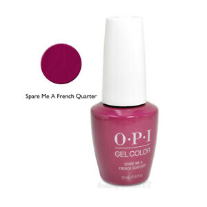 OPI Soak Off Gel Nail Polish GC N55 Spare Me a French Quarter? 0.5oz