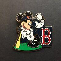 WDW - Mickey Mouse Major League Baseball - Boston Red Sox Disney Pin 45151