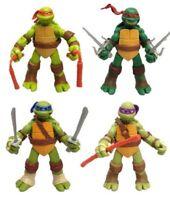 4x Teenage Mutant Ninja Turtles Action Figures Cake topper Boy KidsToy figurines