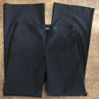 Body By Victoria Pants 6 Tall Black 6T Lightweight Side Zip VS