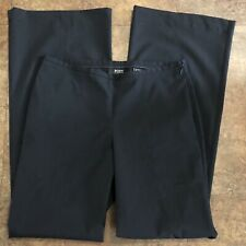 Body By Victoria Pants 6 Tall Black 6T Lightweight Side Zip VS