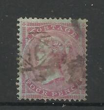 1855/7 Sg 62, 4d Carmine, small Garter, Good used. (TT1187-105)