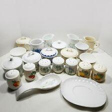 Pyrex Corning Corelle Table Coordinates Salt Pepper Cream Sugar 81Ty You Choose