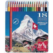 Caran D'ache Prismalo Watercolour Pencil 18 Colour Tin