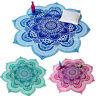 Indisch Mandala Tapisserie Strandtuch Wandteppich Hippie Yoga Mat Matte Dekor