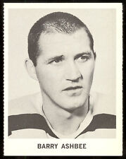 1965 COCA-COLA COKE BARRY ASHBEE EX-NM BOSTON BRUINS FLYERS HOCKEY CARD