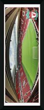 Liverpool Anfield Football Soccer Framed Poster Print Photo 30x75cm | 12x30 in