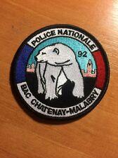 PATCH POLICE NATIONALE FRANCE - BAC CHATENAY-MALABRY