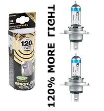 NUOVO H4 RING XENON ULTIMA AUTO LAMPADINE + 120% più luminoso H4 COPPIA