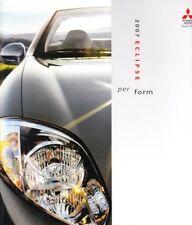 2007 07 Mitsubishi Eclipse & Spyder original brochure