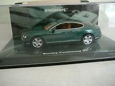 New ListingMinichamps Bentley Continental Gt '03 Green Metallic Diecast Car 1:43 Model