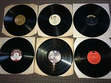 6 LP mixed bag. Vinyl's only (NO SLEEVES). G - EX.