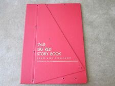 Vintage Collectible 1957 Our Big Red Story Book-Ginn and Company-Teacher Edition