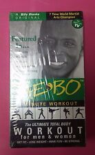 Sealed VHS: Billy Blanks Tae Bo Total Body 8 Minute Workout for Men & Women