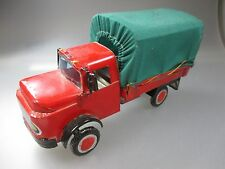 Mercedes Benz Rundhauber en tôle-tôle camion, TINPLATE TOY (ssk64)