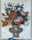 Early 19th c. Chinese Painting-Still Life of Flowers-NR