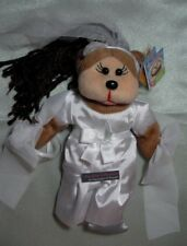"SKANSEN BEANIE KID  ""SARAH THE BRIDE  BEAR""  NEW WITH MINT TAG    JULY- 2012"