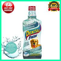 Formula Dental Fresh Care Water Additive for Dogs , Dog Plaque Remover ,17 fl oz