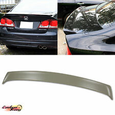 HONDA CIVIC 8th 8 REAR TRUNK SPOILER WING 4DR UNAPINTED ABS ☆