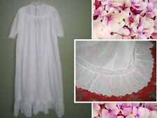 Antique Dress Baby Toddler Girls Dress~Christening Baptismal Gown-Hand made Lace
