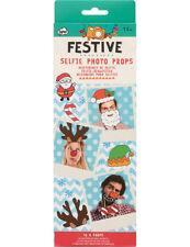 Natale Festive SELFIE FOTO sostegni KIT Booth Natale