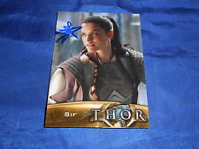 Thor The Movie Sif Autograph Card (2011) #80 Signed Jaimie Alexander Upper De NM