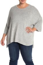 Philosophy For the Republic Ladies Dolman Sleeve Top Plus Size 2X Gray NWT