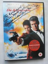 Signed Samantha Bond (Moneypenny) OO7 James Bond film DIE ANOTHER DAY 2 dvd disc