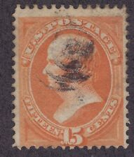 US 152 Used 1870 15¢ Daniel Webster Issue Scv $210.00