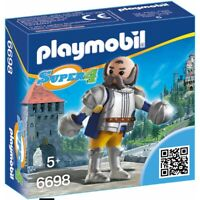 Playmobil 6698 Super 4 Sire Ulf Garde Royal Figurine Chevalier Jeux Construction
