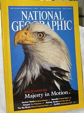 NATIONAL GEOGRAPHIC JULY 2002  EAGLES,NUCLEAR WASTE;SOMALIA;CONFEDERATE;DC WHARF