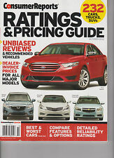 CONSUMER REPORTS MAGAZINE RATING & PRICING GUIDE OCTOBER 2012, UNBIASED REVIEWS.