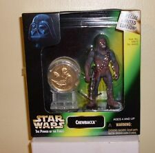 Star Wars Chewbacca with Gold Coin Special Millennium Ed TRU Excl 1997 Kenner