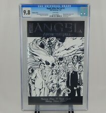 ANGEL AFTER THE FALL #1 - BLACK AND WHITE WEDDING COVER CGC 9.8 RARE!!!