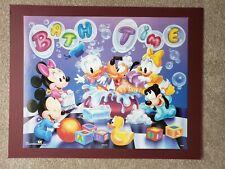 Disney's Bathtime Disney Babies, Vintage OSP Poster 16x20