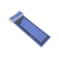 Waterproof Flexible Silicone Wireless Bluetooth Mini Keyboard for Laptop iPhone