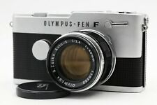 【Near MINT】 OLYMPUS Pen FT Half Frame + G-Zuiko Auto-S 40mm F1.4 Lens From JAPAN